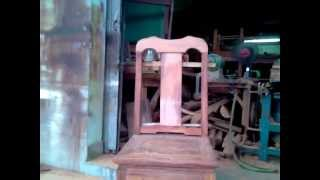001 Kitchen Chair Building Process By Halong Wood Products Step By Step Part 3 For Teak Wood