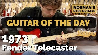 Guitar of the Day: 1973 Fender Telecaster | Norman's Rare Guitars