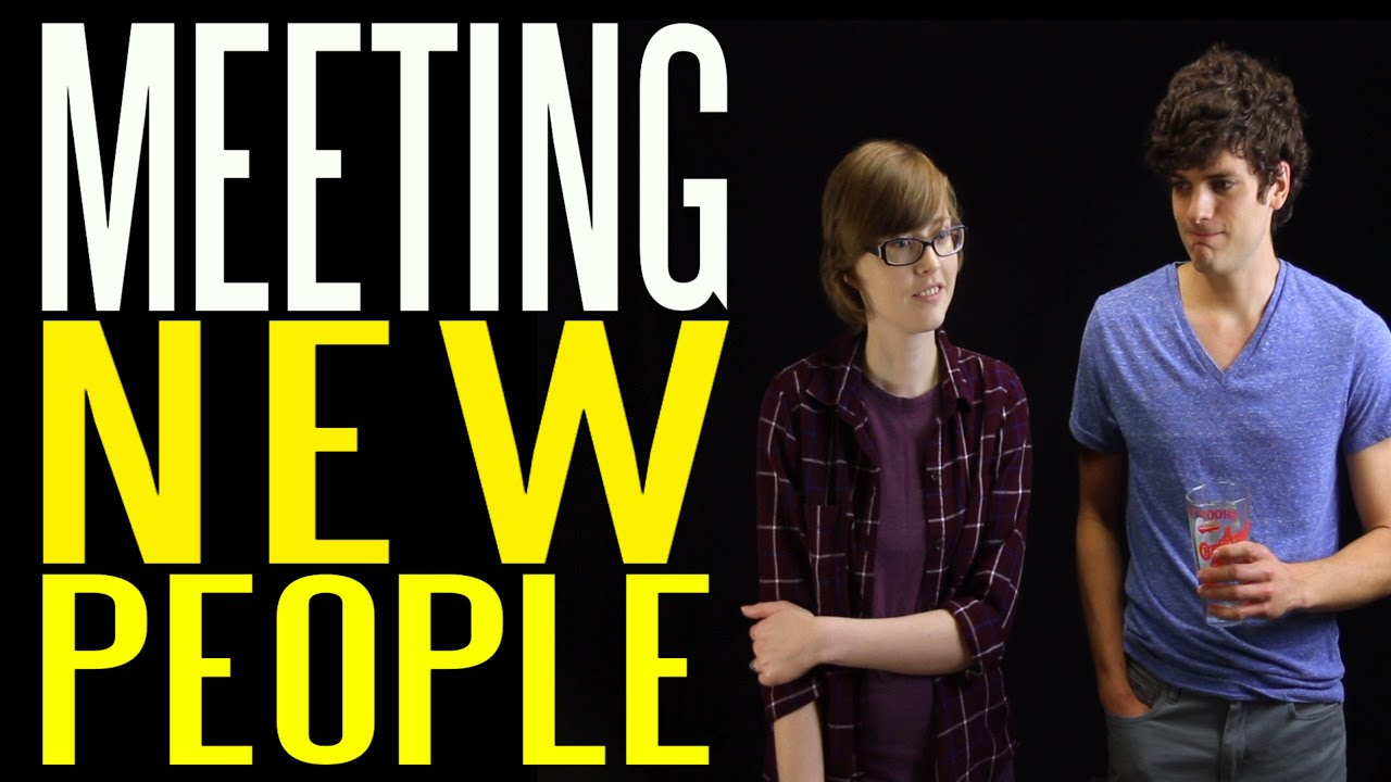 how to talk to new people