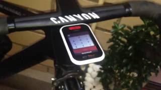 Polar V650 Unboxig GPS colocación en soporte Canyon Aeroad