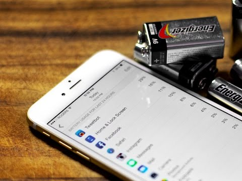 How to fix iPhone 6 and iOS 8 battery life problems!