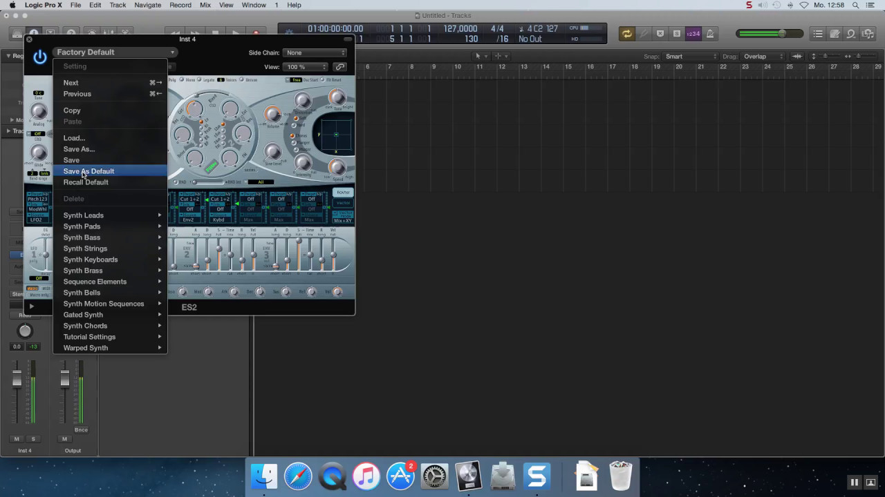 how to produce with logic pro x