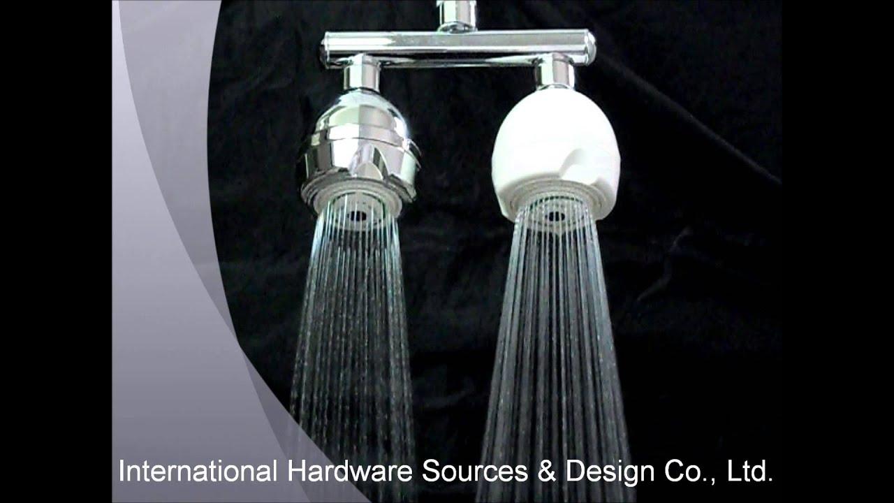 Twin Manifolds Shower Arm w/Low-Flow Shower Head Video Show - YouTube