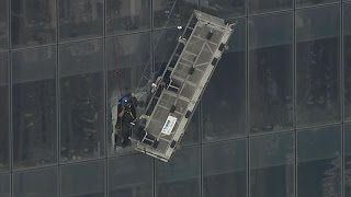 See Window Washers' Dramatic Rescue at One World Trade Center