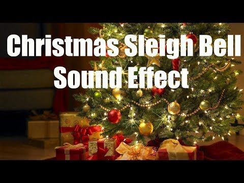 Christmas Sleigh Bells Sound Effect (Best audio quality)
