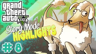 Gta 5 - Poodle Rampage - Story Mode Highlights #8