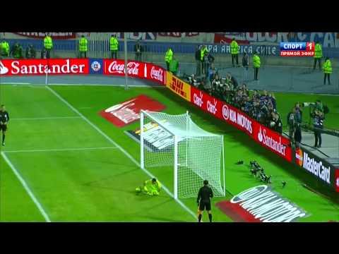Чили - Аргентина. Кубок Америки 2015, Финал, Серия пенальти