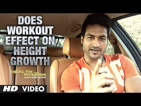 Does Workout Effect on HEIGHT GROWTH?