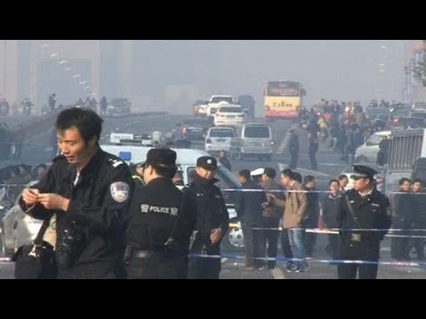 Explosions outside Communist provincial HQ in China