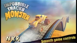 Impossible GT Monster Stunts // Android Gameplay HD // Car Stunts Games For Kids  - Offline