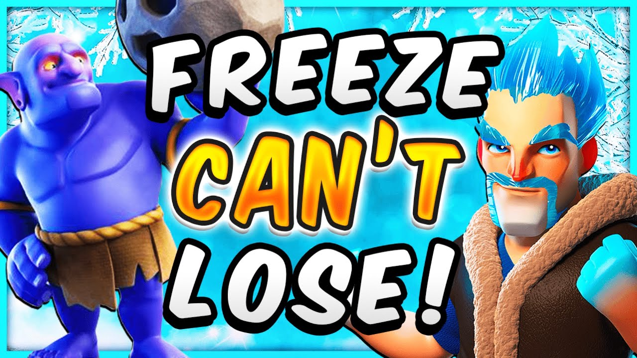 THIS FREEZE DECK DOESN'T LOSE! NEW GRAVEYARD FREEZE — Clash Royale