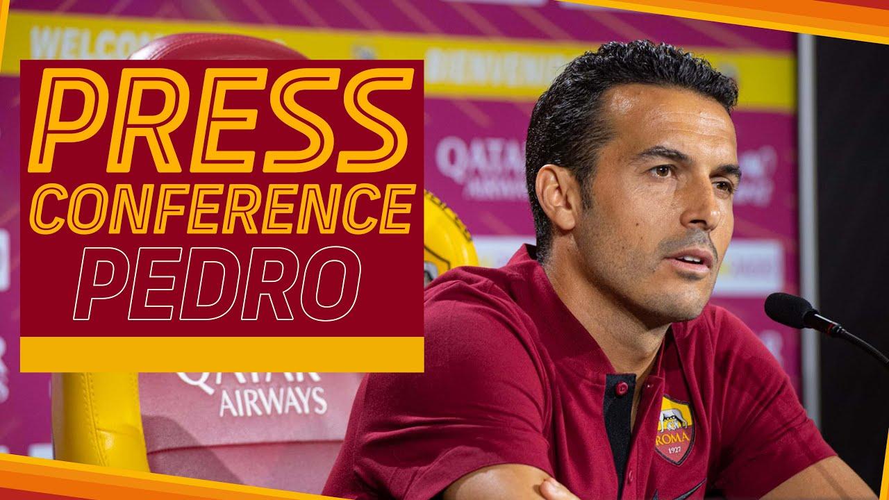 🎙️ | La conferenza stampa di presentazione di Pedro