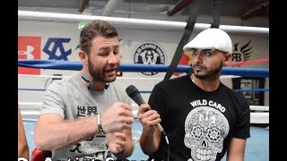 """WOW! Conor sparring partner Chris talks """"edited"""" Paulie tape! """"Wasn't a knockdown!"""""""