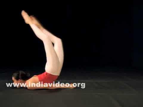 indian yoga salabhasana locust pose india  youtube