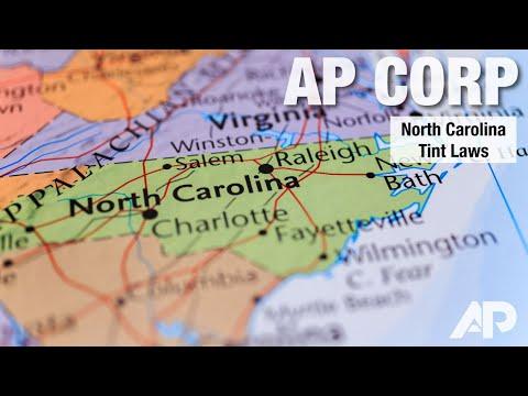 Legal Tint In Nc >> North Carolina Window Tint Law Ap Tinting Aptinting Com