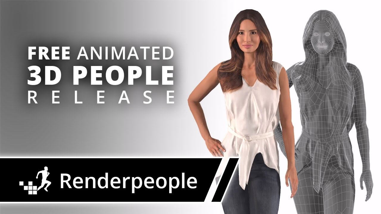 Renderpeople - Free Animated 3D People Release