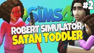 Sims 4 - Robert Simulator #2 - Satan Toddler