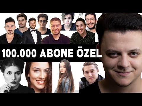 100.000 ABONE ÖZEL VİDEOSU! #1