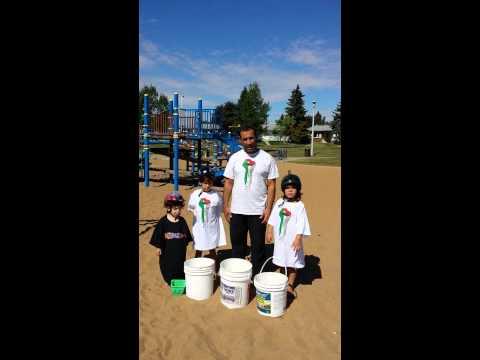 Rubble Bucket Challenge