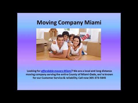 Long Distance Moving Company Weston | Affordable Movers Weston | Moving Services Weston