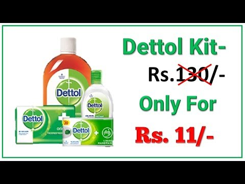 Dettol- Kit -Only- for- Rs.11/-