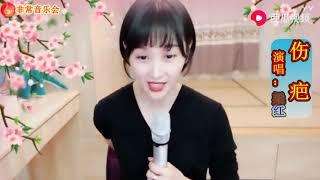 Mix - 梁红演唱这一首《伤疤》欢快的节奏好听!