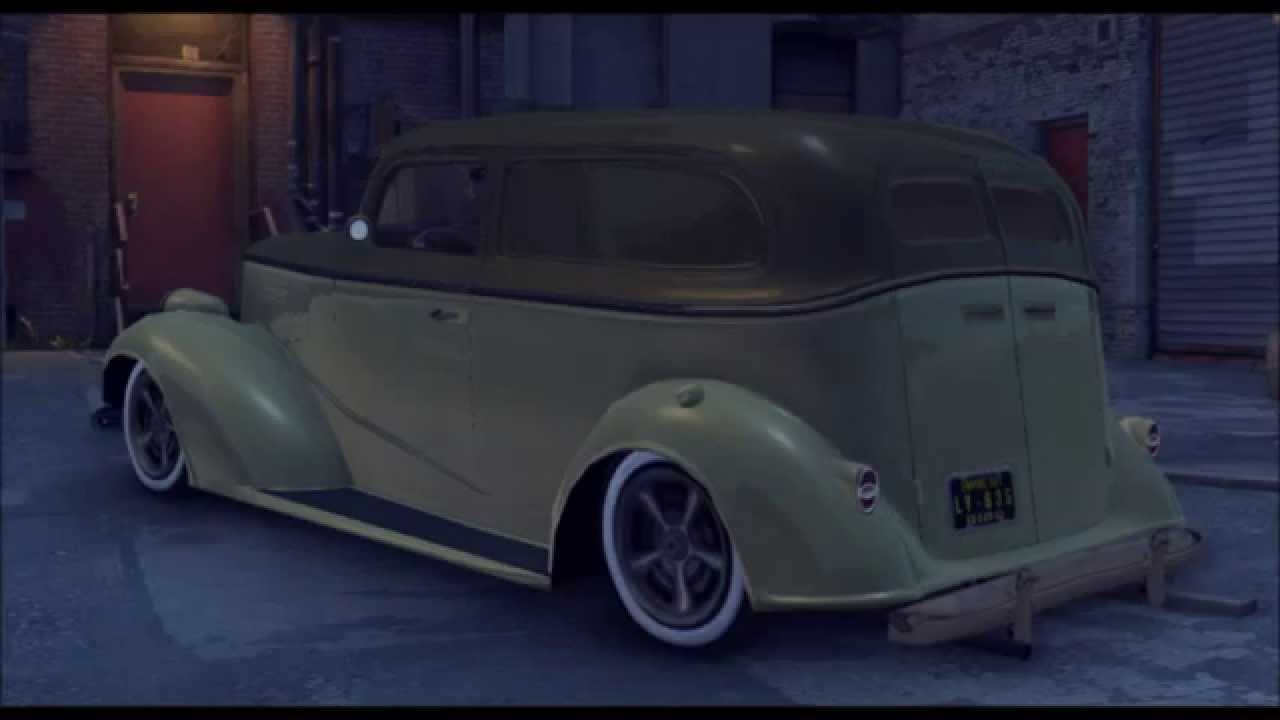 Mafia 2 Lowriders 2 DLC 1938 Chevrolet Panel Van - YouTube