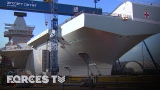 Building Britain's Biggest Warship: On Board HMS Prince Of Wales | Forces TV