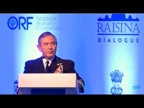 """Admiral Harry B. Harris: """"India and US must shape the new normal, the global operating system"""""""