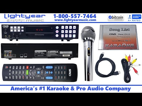 Cavs 205G USB (Karaoke Machine) With Free (Karaoke Songs)