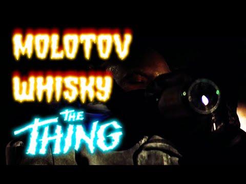 """John Carpenter''s THE THING - """"Molotov whisky"""" theory examined"""