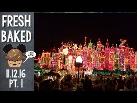 Christmas lights and Christmas magic at Disneyland | 11-12-16 Pt. 1