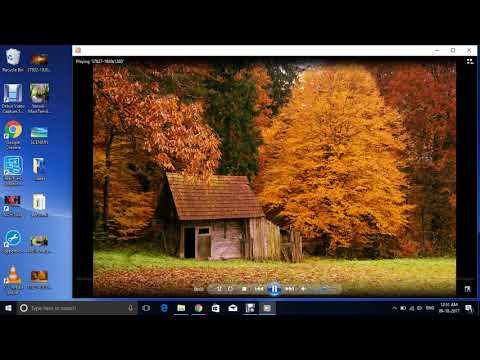How to create a slide using Windows Media Player
