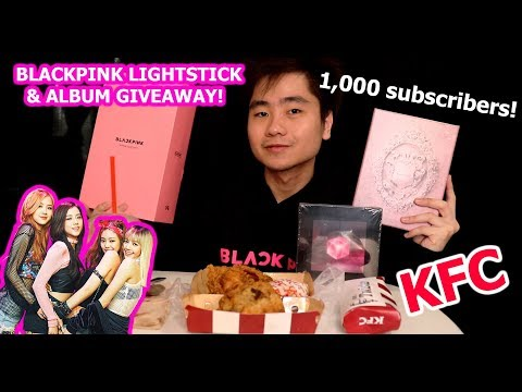 [eng-sub]-blackpink-giveaway-special|-new-garlic-butter-chicken-&-twister-taste-test