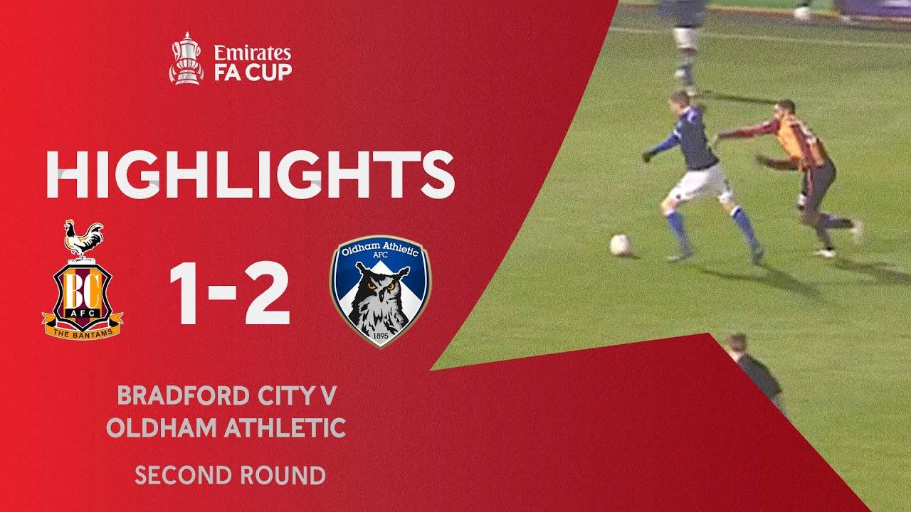 Брэдфорд Сити  1-2  Олдем Атлетик видео