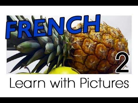 Vui học tiếng Pháp chủ đề trái cây