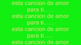 """Cancion De Amor"