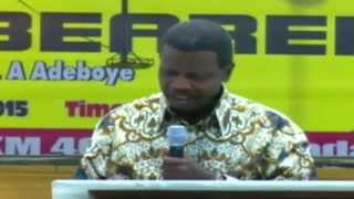 Make blessings do the pursuing: By Pastor Enoch Adejare Adeboye(General Overseer  of RCCG)