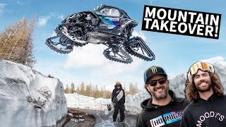 Download Ken Block Shreds A Mountain in his Can-Am on Tracks With Danny Davis! Mp3 and Videos
