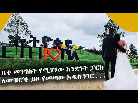 ቤተ መንግስት የሚገኘው አንድነት ፓርክ ለሙሽሮች ይዞ የመጣው አዲስ ነገር... Tadias Addis