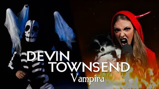 Devin Townsend - Vampira (Cover by Vicky Psarakis & Cody Johnstone)