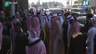 دشن خادم الحرمين الشريفين عدد من المشاريع النفطية العملاقة بالظهران