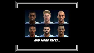 PES 2013 | New Full Facepack HD • Manchester City • 2017 / 2018