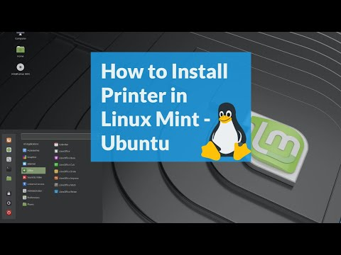 How To Install A Printer In Linux Mint Or Ubuntu