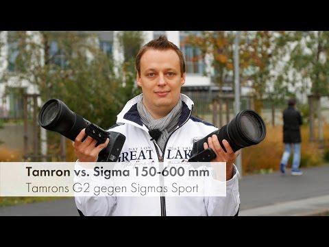 Tamron 150-600 mm G2 vs Sigma 150-600 mm Sport - Telezoom-Boliden im Vergleich [Deutsch]