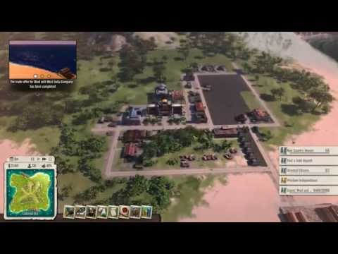 Let's Play Tropico 5 Espionage - 01 - Legend of the Toucan