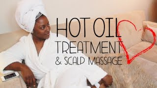 ||34.|| ♥ DIY Hot Oil Treatment & Scalp Massage ♥
