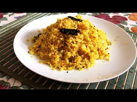 Cabbage Stir Fry Cabbage Thoran Kerala Style Healthy Vegan Recipe