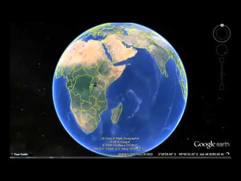 Tanzania United Republic of Google Earth View