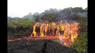 lava flows in pahoa